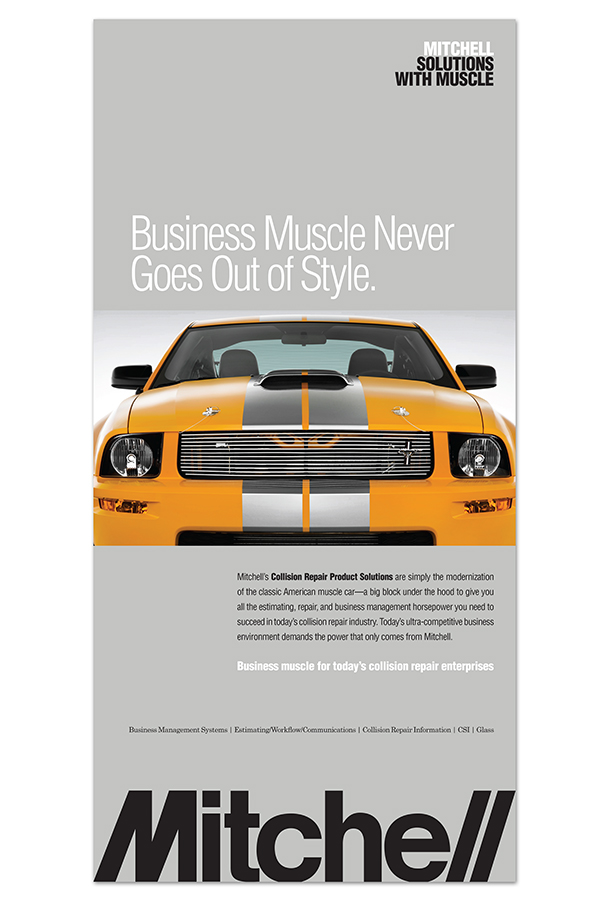 Solutions With Muscle Campaign Branding